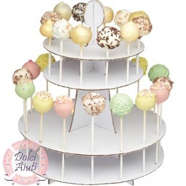 Espositore per 28 cake pops  // 28 Cake pops stand