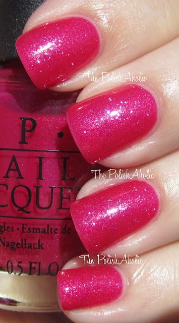 OPI's Minnie Mouse collection: I'm All Ears