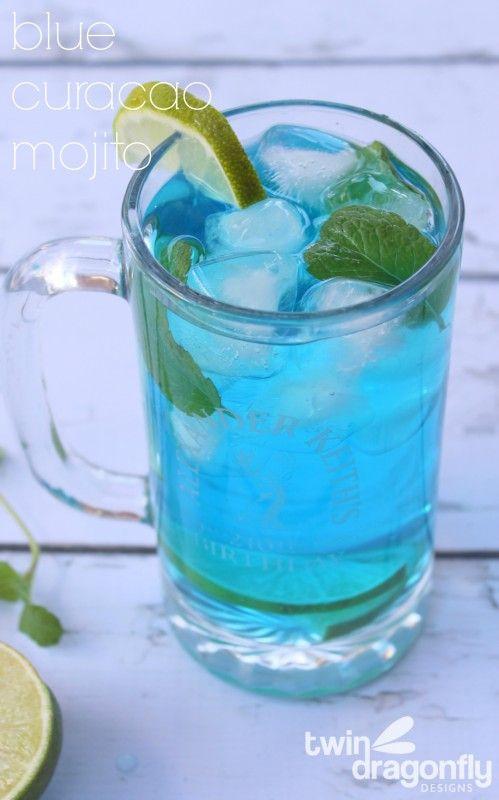 Blue Curacao Mojito Recipe                                                                                                                                                                                 Más