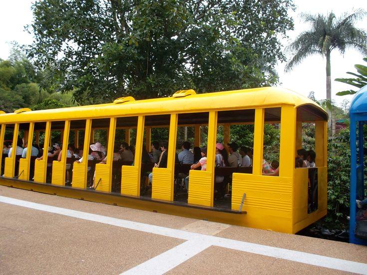 Estación del tren dentro del propio parque del Café, Quindio, Colombia