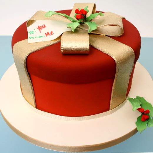 149 best FONDANT CAKES WINTER images on Pinterest Fondant