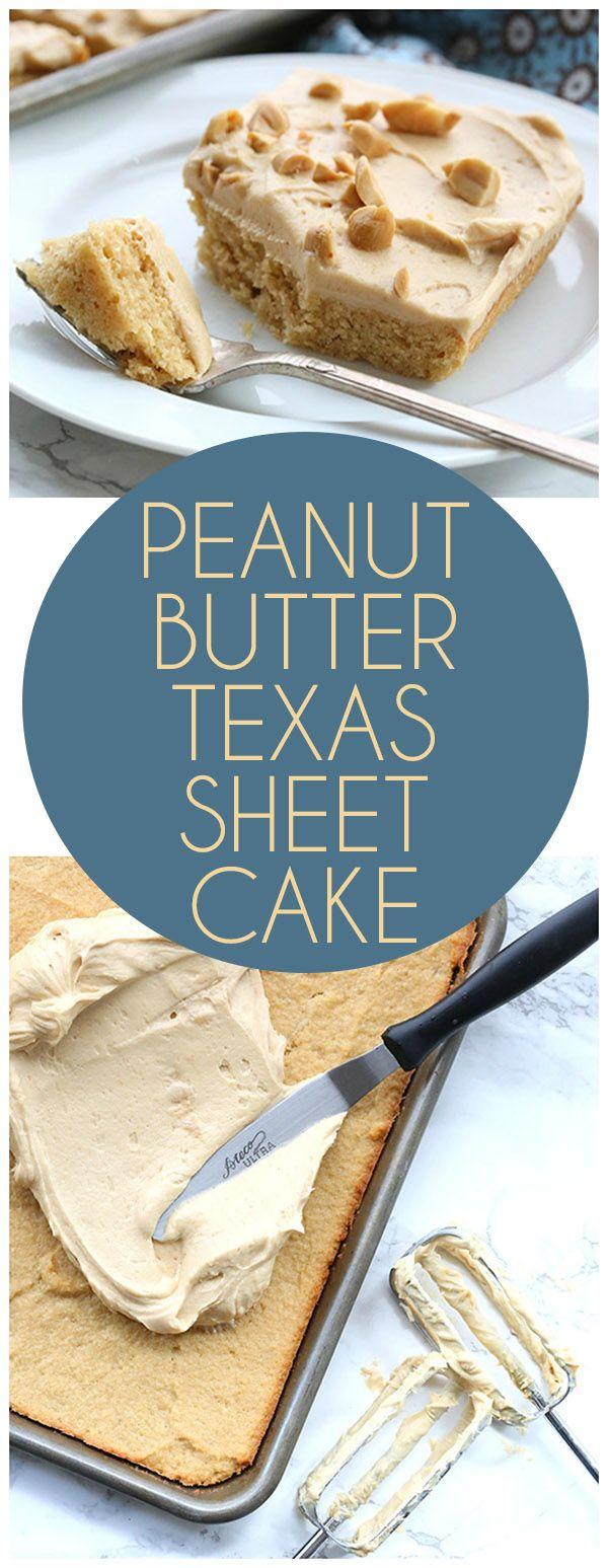 Low carb keto peanut butter texas sheet cake recipe