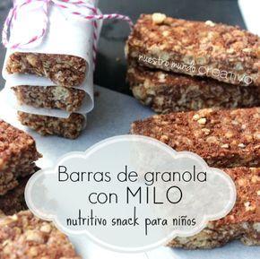 barras de granola caseras, llenas de sabor y energía que son mucho más fáciles de hacer de lo que crees.