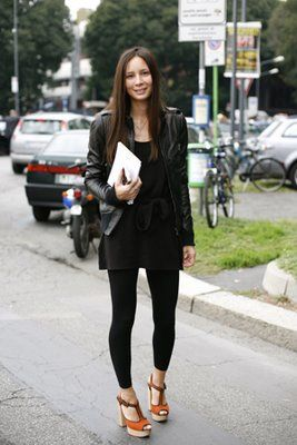 how to wear footless tights - Google Search