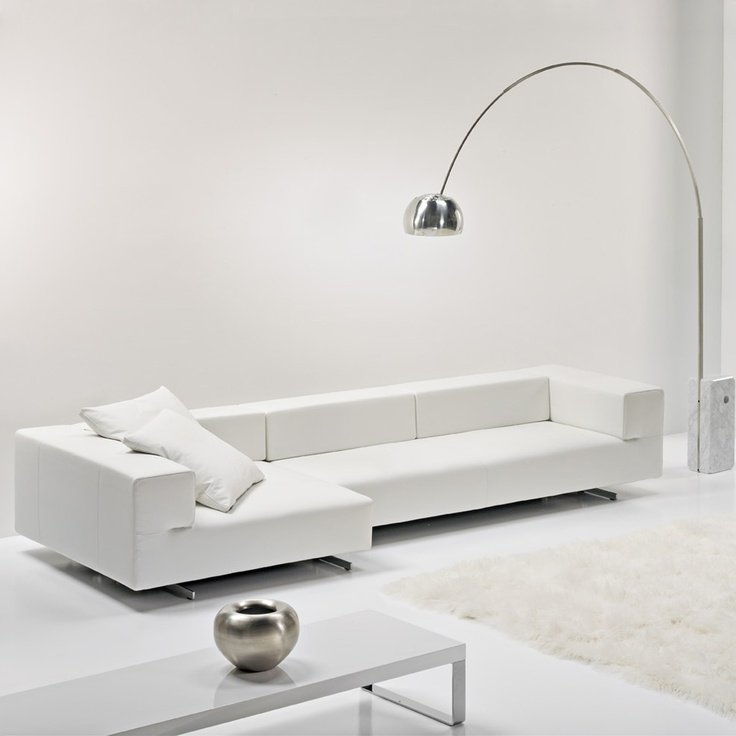 Cubo, white sofa by Frighetto