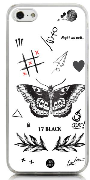 Larry's Tattoos Phone Case - Cases by Kate