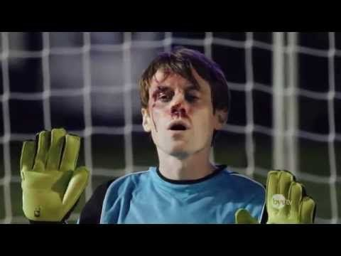 Scott Sterling is the best! This Goalkeeper Gets Hit In The Face By Every Penalty Kick, But He Manages To Stand Til The End! - YouTube