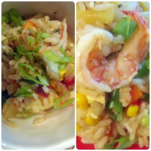 Pineapple shrimp fried rice | Just D'Lish, Inc. (All Meals/Desserts P ...