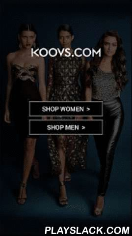 KOOVS-THE ONLINE FASHION STORE  Android App - playslack.com ,  Retail therapy is now on your fingertips! Welcome to KOOVS, a one-stop online fashion destination for women and men. From the latest trend-based collections to an exhaustive edit of shoes, bags, accessories and makeup, it is your go-to place to look fabulous. Shop from over 100 brands and our on-trend private label, as we launch over 150 new products every week. DOWNLOAD THE KOOVS APP TO ENJOY ITS MANY BENEFITS.SHOP ON THE GOAn…