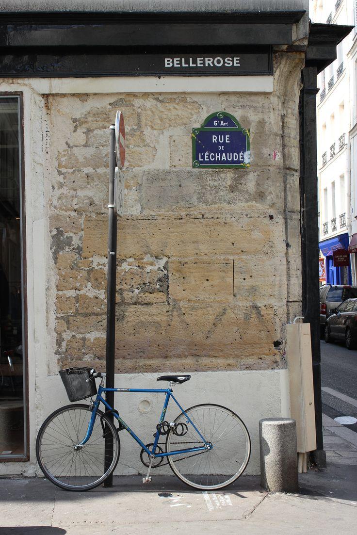 Street scape Saint Germain Paris