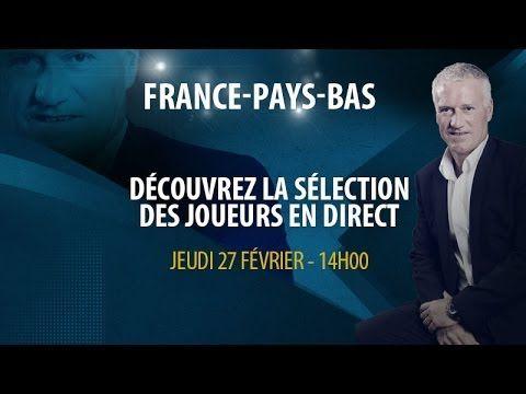 Live vidéo : La conférence de presse de Deschamps en direct (France-Pays-Bas) - http://www.actusports.fr/91084/live-video-la-conference-de-presse-de-deschamps-en-direct-france-pays-bas/