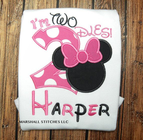 character mouse i u0026 39 m twodles shirt  mouse 2nd birthday shirt   i u0026 39 m twodles