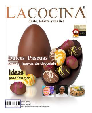 LacocinA Nº4 Revista de cocina y recetas dulces paso a paso para Pascuas