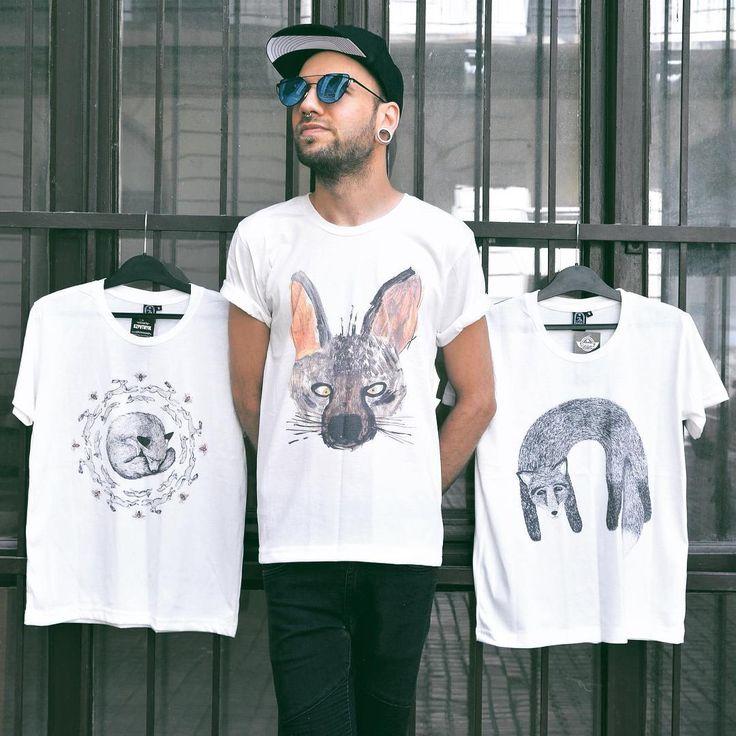 Friendly animals  #szputnyikshop #szputnyik #budapest #mens #tshirt with…