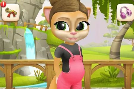 Pregnant Talking Cat Emma Hack and cheats for free Cash, Android and iOS