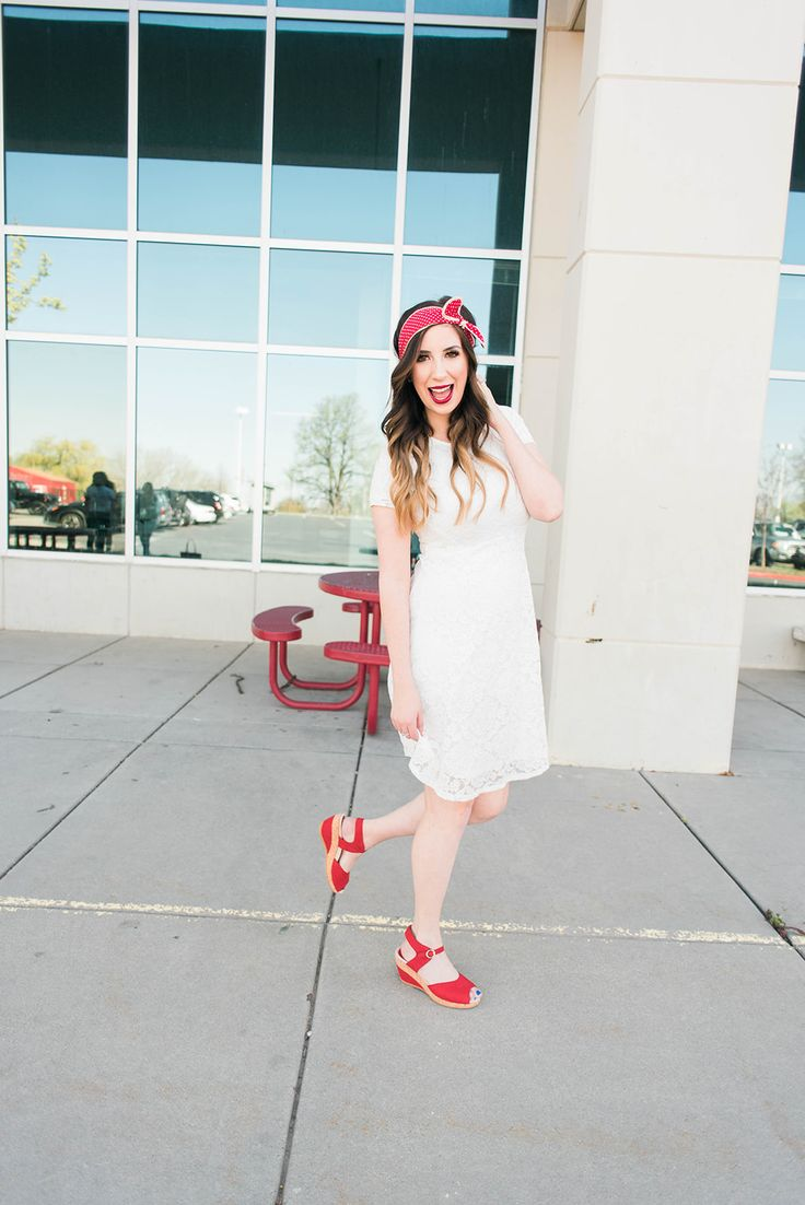 Stretch Your Closet – Red Dansko Wedges Two Ways