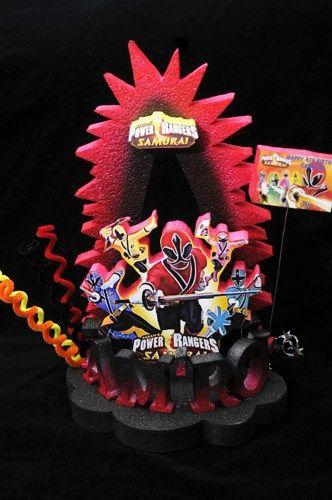 POWER RANGER CAKE TOPPER BIRTHDAY PARTY SUPPLY | Adianezh - Seasonal on ArtFire