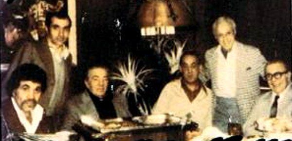 The Philly mob in there heyday  L-R: Joe Ciancaglini, John Stanfa, ???, Frank Sindone, John Simone, Angelo Bruno