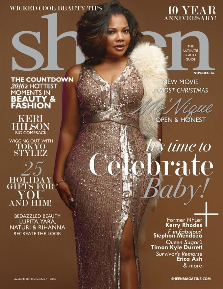 Mo'Nique is SNATCHED on this Month's Cover of Sheen Magazine - Lisa a la mode