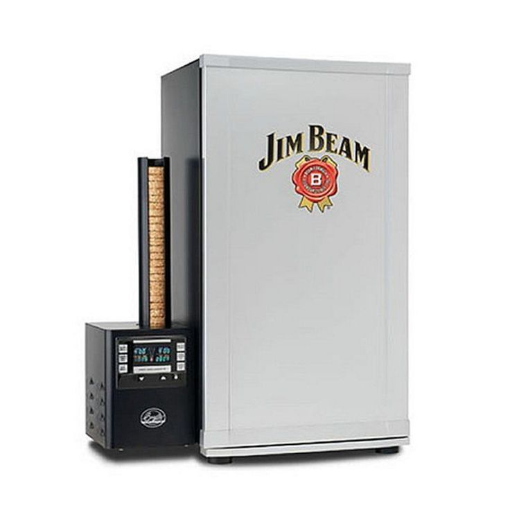 Bradley Jim Beam Digital 4 Shelf Rack Electric Smoker For Sale w/ Recipe Book  #BradleyTechnologies