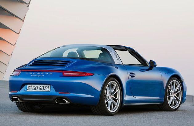 Efsanevi Porsche 911 Targa iki farklı versiyonla geri dönüyor!