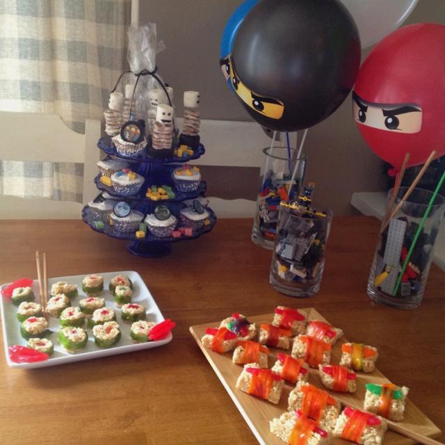A Lego Ninjago Birthday Party