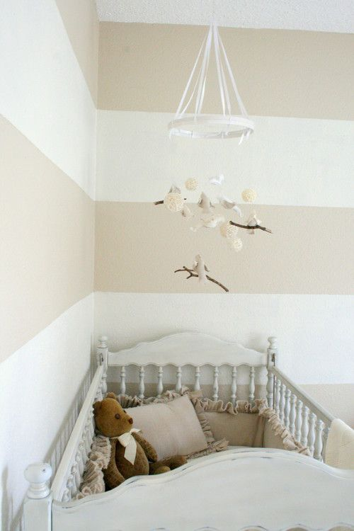 Perfect Wall Design for baby's room - #mamasandpapas #dreamnursery