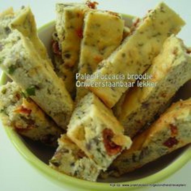 Paleo Foccacia bread (Dutch only) #paleobreakfast