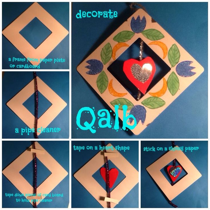 """Qalb. """"That which Turns"""" Teaching kids about some realities of the spiritual heart - hands on project. Islam / Ramadan project etc"""