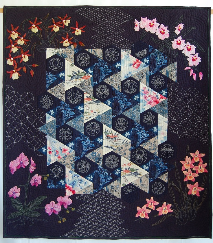 80 best Asian Quilts images on Pinterest | Asian quilts, Japanese ... : quilt shows ontario - Adamdwight.com