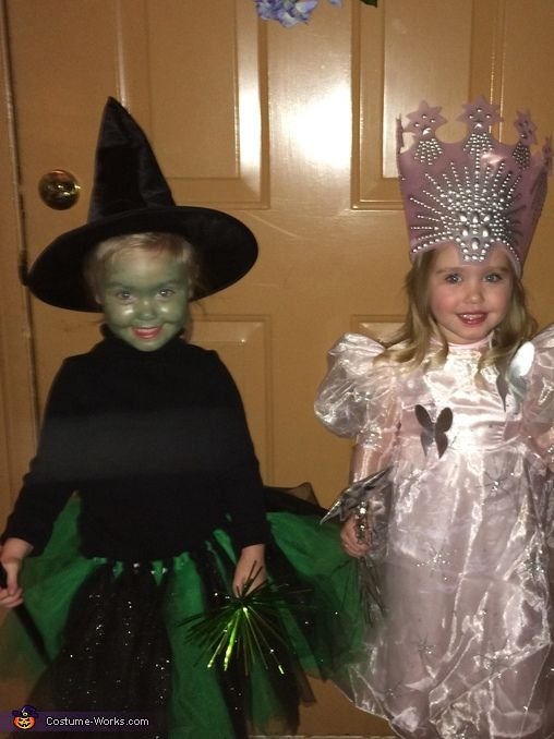 Mary: I have 3 year old twin girls who are alike in some ways but very different in others. So I wanted costumes to show that and when I saw the...