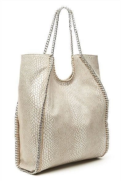 "Love me a bit of bling. Latest Women's Accessories for Spring & Summer 2013 | Witchery Online — ""Paige Exotic Bag"" $129.95 from @WITCHERY Fashion #witcherywishlist"
