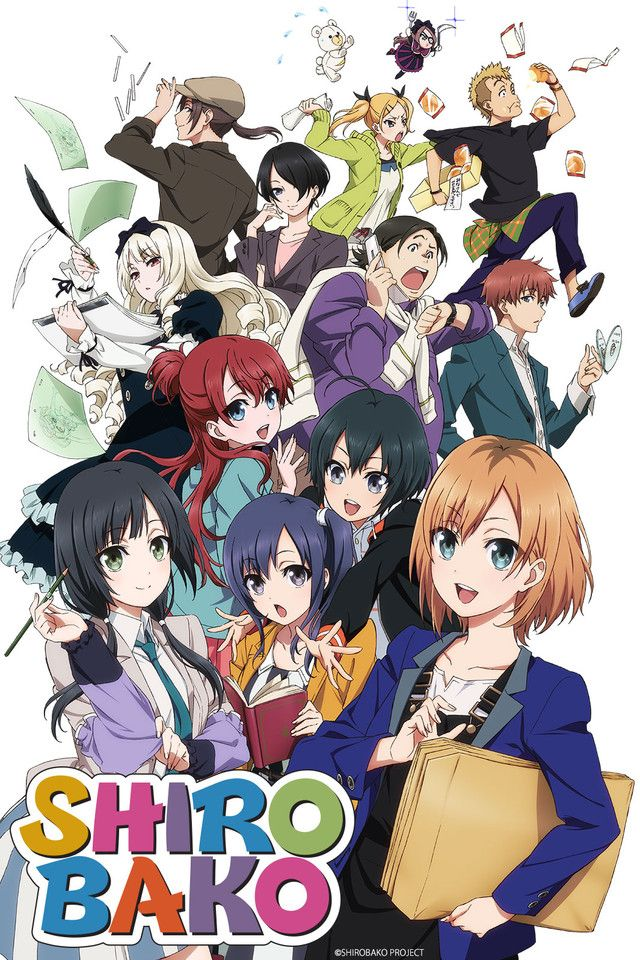 "Shirobako - Not great for binge watching, but kind of a fascinating show about the ""behind the scenes"" of anime production."