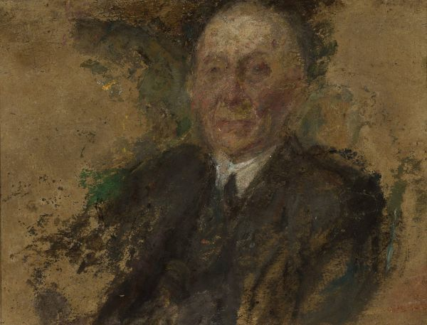 Portret starszego mężczyzny - Olga Boznańska