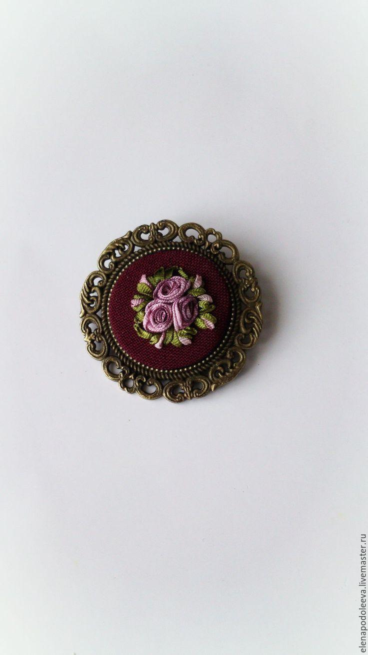 схема вышивки цветочный румянец