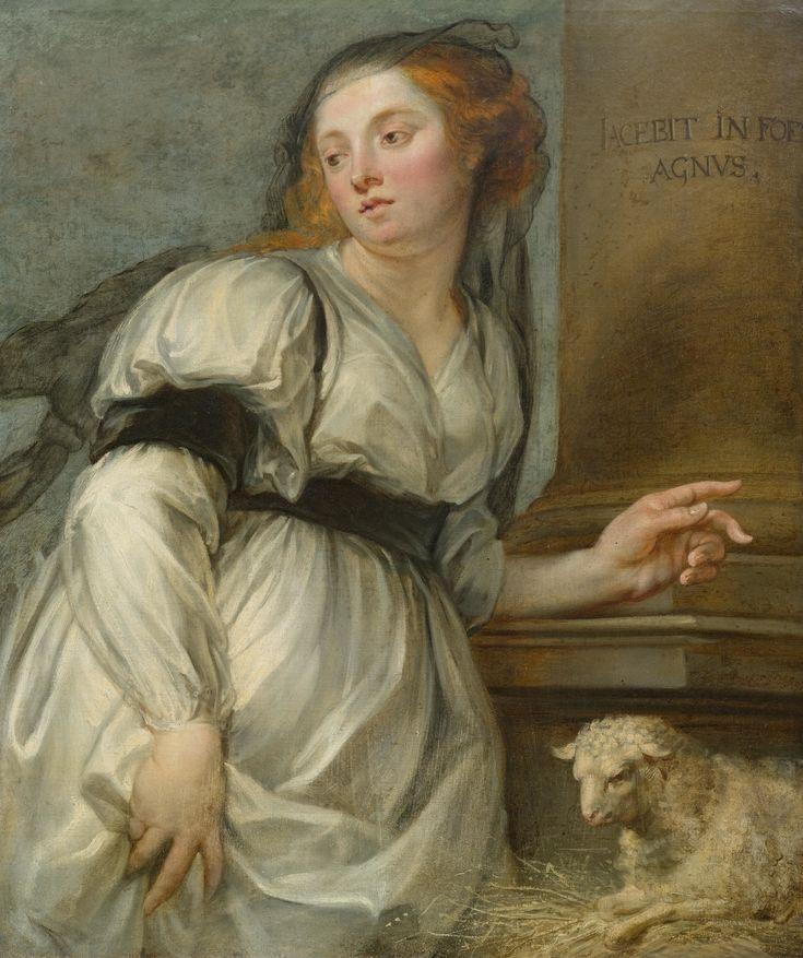 BOECKHORST, JOHANN circa 1650Depiction of a Sibylle .jpg (4155×4955)