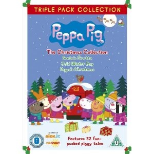 The perfect Christmas stocking filler for kids - Peppa Pig: The Christmas Collection 3 Disc DVD!