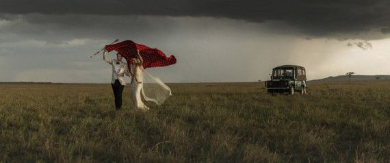 These Striking Wedding Photos From Kenya Are Guaranteed To Take Your Breath Away | Basically why i'd elope!