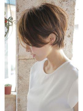 【+~ing】耳掛けユルショート 【随原麻由】 - 24時間いつでもWEB予約OK!ヘアスタイル10万点以上掲載!お気に入りの髪型、人気のヘアスタイルを探すならKirei Style[キレイスタイル]で。