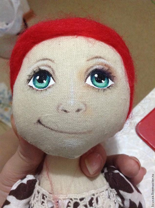 рисуем лицо кукле - Ярмарка Мастеров - ручная работа, handmade