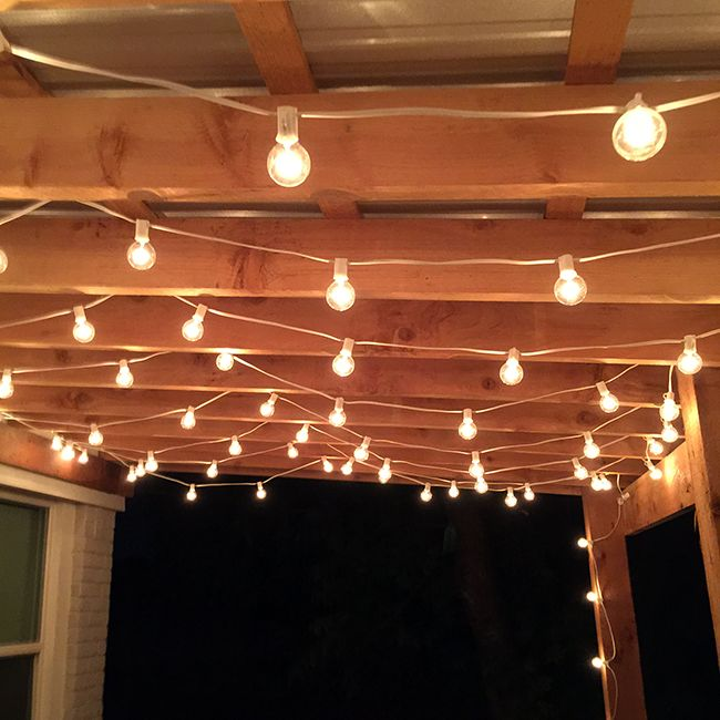 Outdoor String Lights Pinterest : 1000+ ideas about Patio String Lights on Pinterest Yards, Patio lighting and String lighting