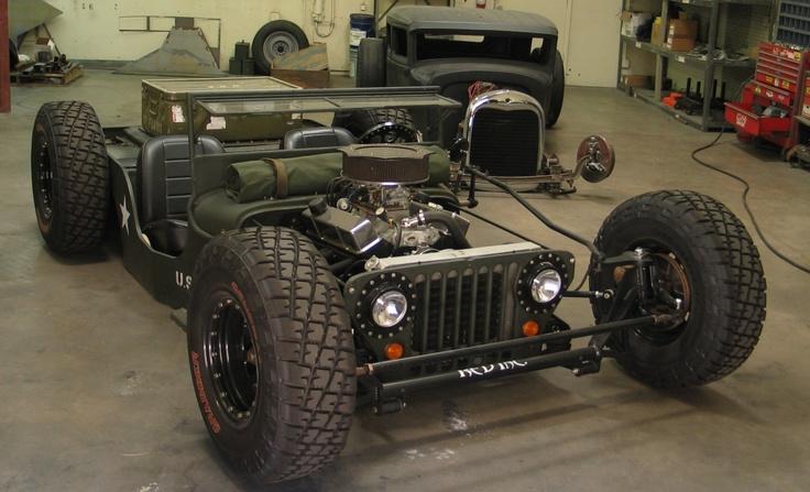 Slammed Hot Rod Jeep Oldies Pinterest Hot rods