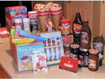 "Preschool ""Ice Cream Sundae"" Theme Basket - Online Fundraising Auction - BiddingForGood"