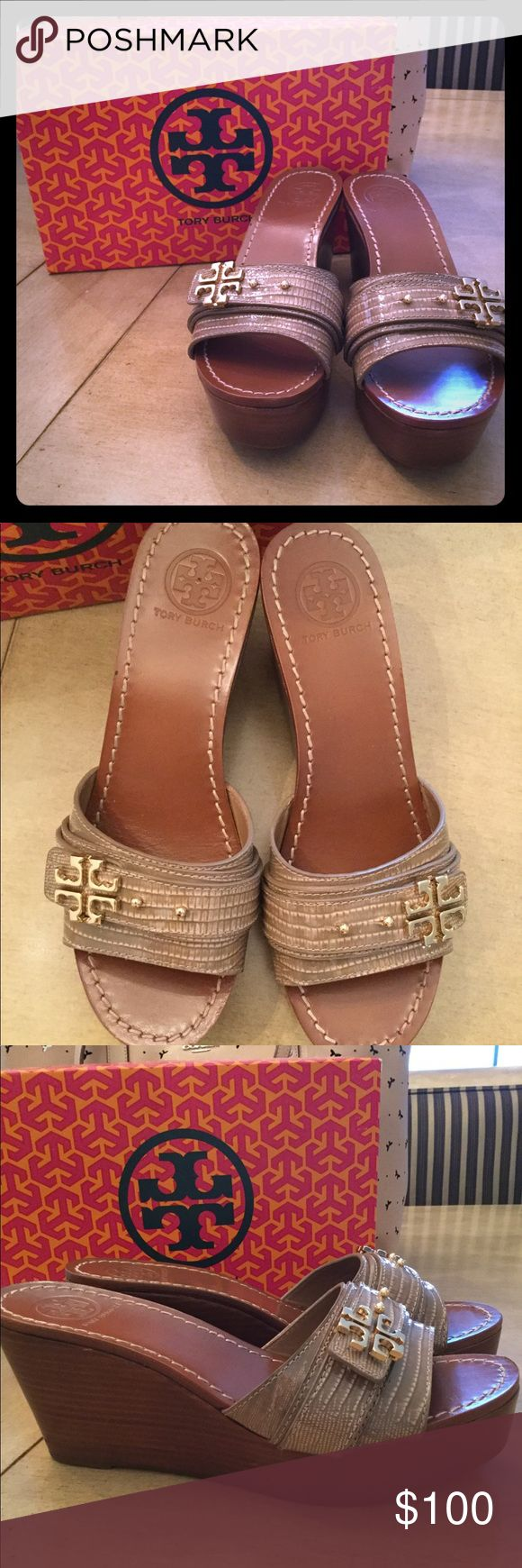 Tory Burch Wedges BRAND NEW
