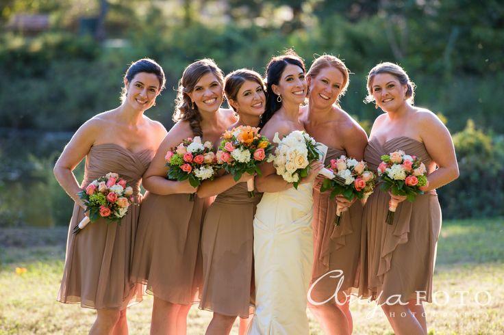 anyafoto.com, bridesmaids, bridesmaid dresses, cream bridesmaid dresses, tan bridesmaid dresses, short bridesmaid dresses, chiffon bridesmaid dresses