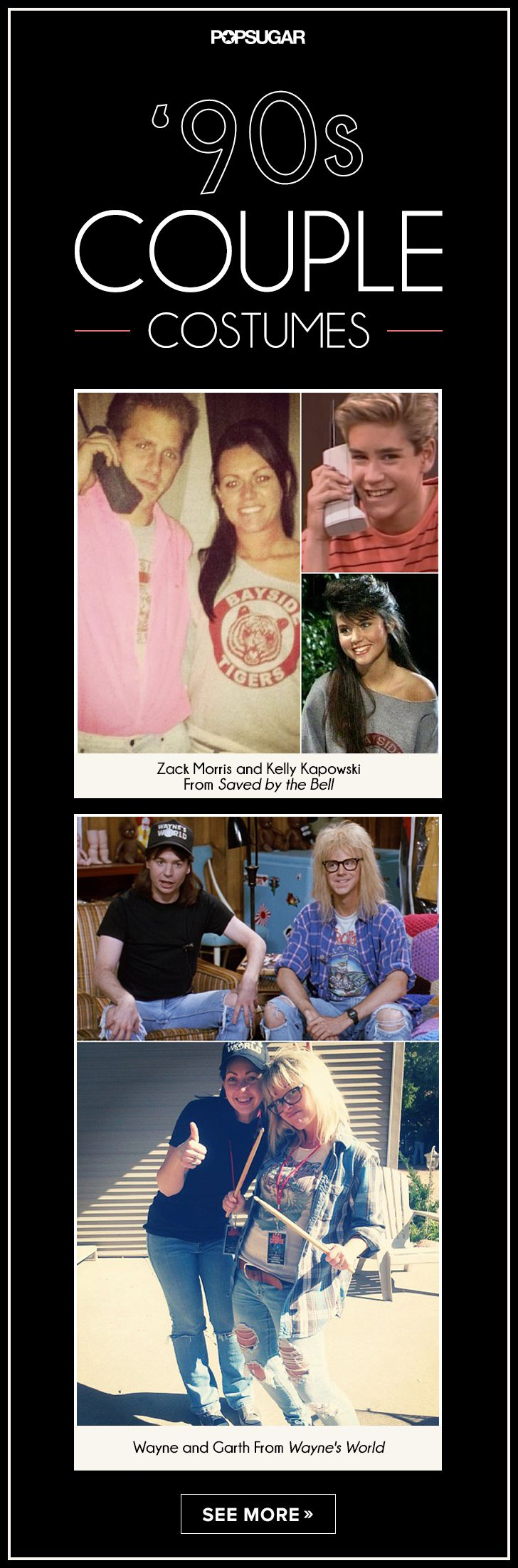 This is great since Dave and I have been the first two!! I'm not sure we'll ever beat our Wayne's World costumes.