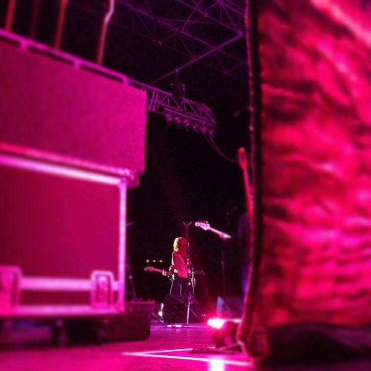 Bonnie Raitt performs in Ascension Winery, Matakana