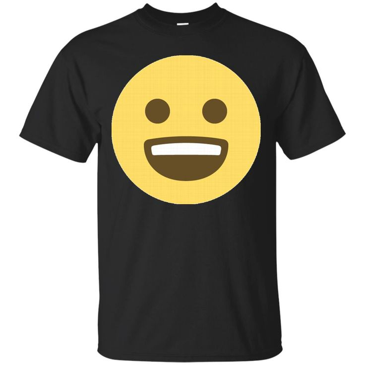 Excited Emoji Face T-Shirt