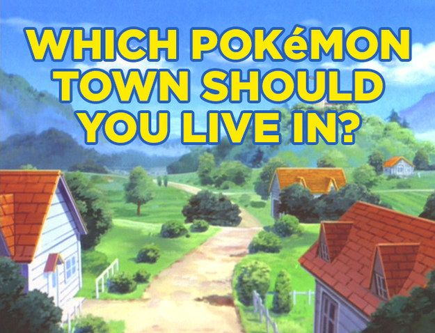 """Which Original """"Pokémon"""" Town Should You Live In?"""
