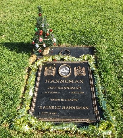 Jeff Hanneman (1964 - 2013) Founding member of the metal band Slayer!